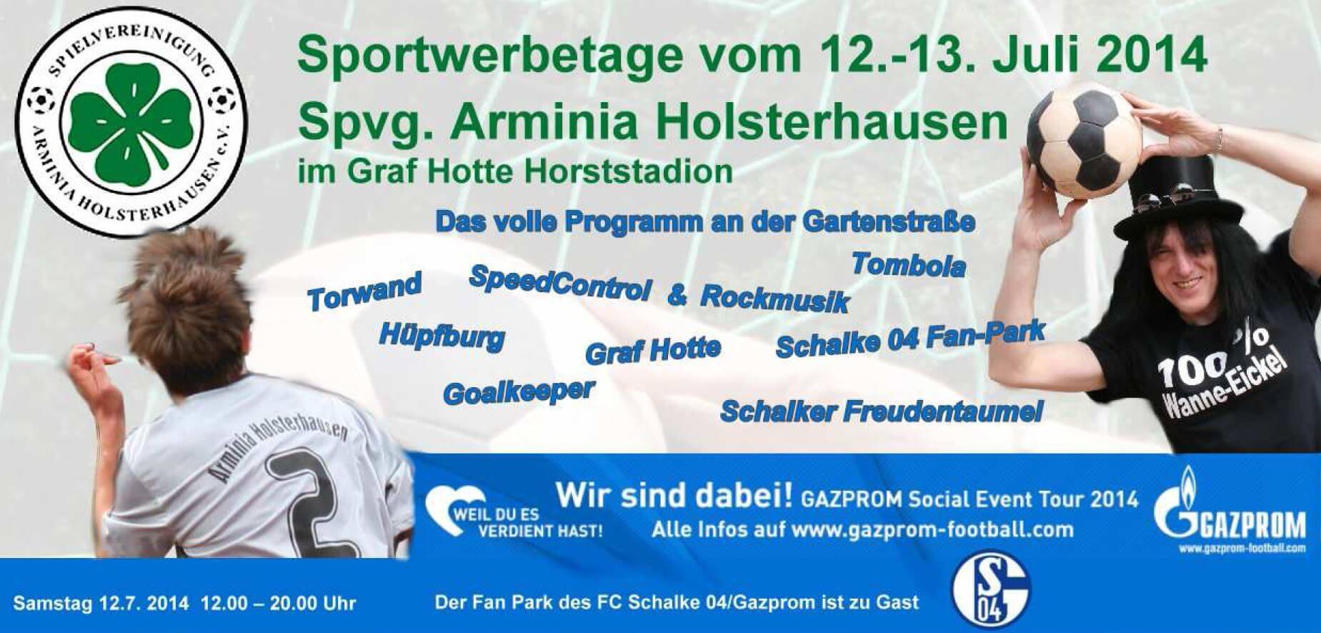 Social Event Tour: Schalke 04 kommt zu unserem Partner Arminia