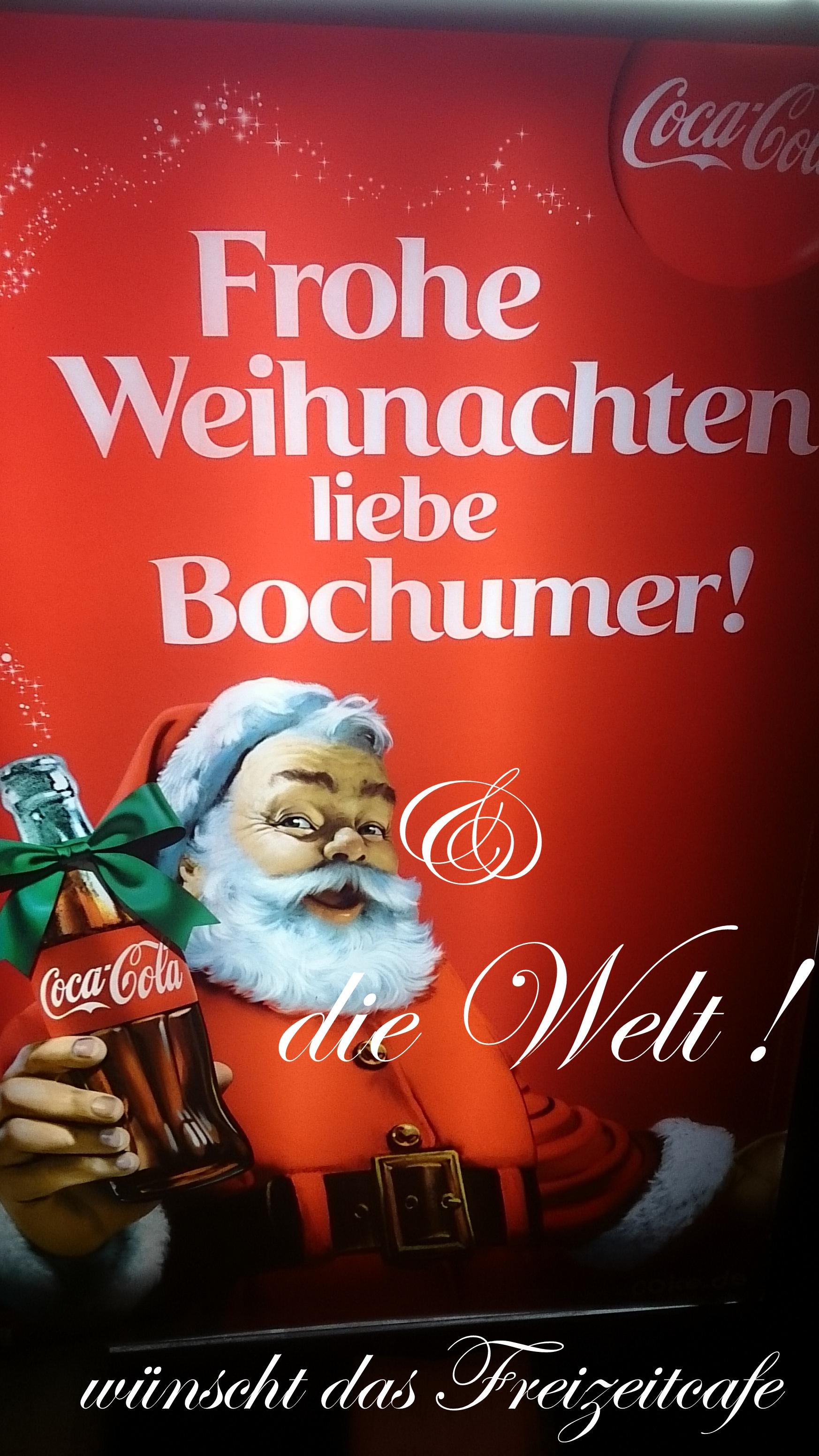 Frohe Weihnachten überall.Fröhliche Weihnacht überall Wünscht Euch Das Freizeitcafe