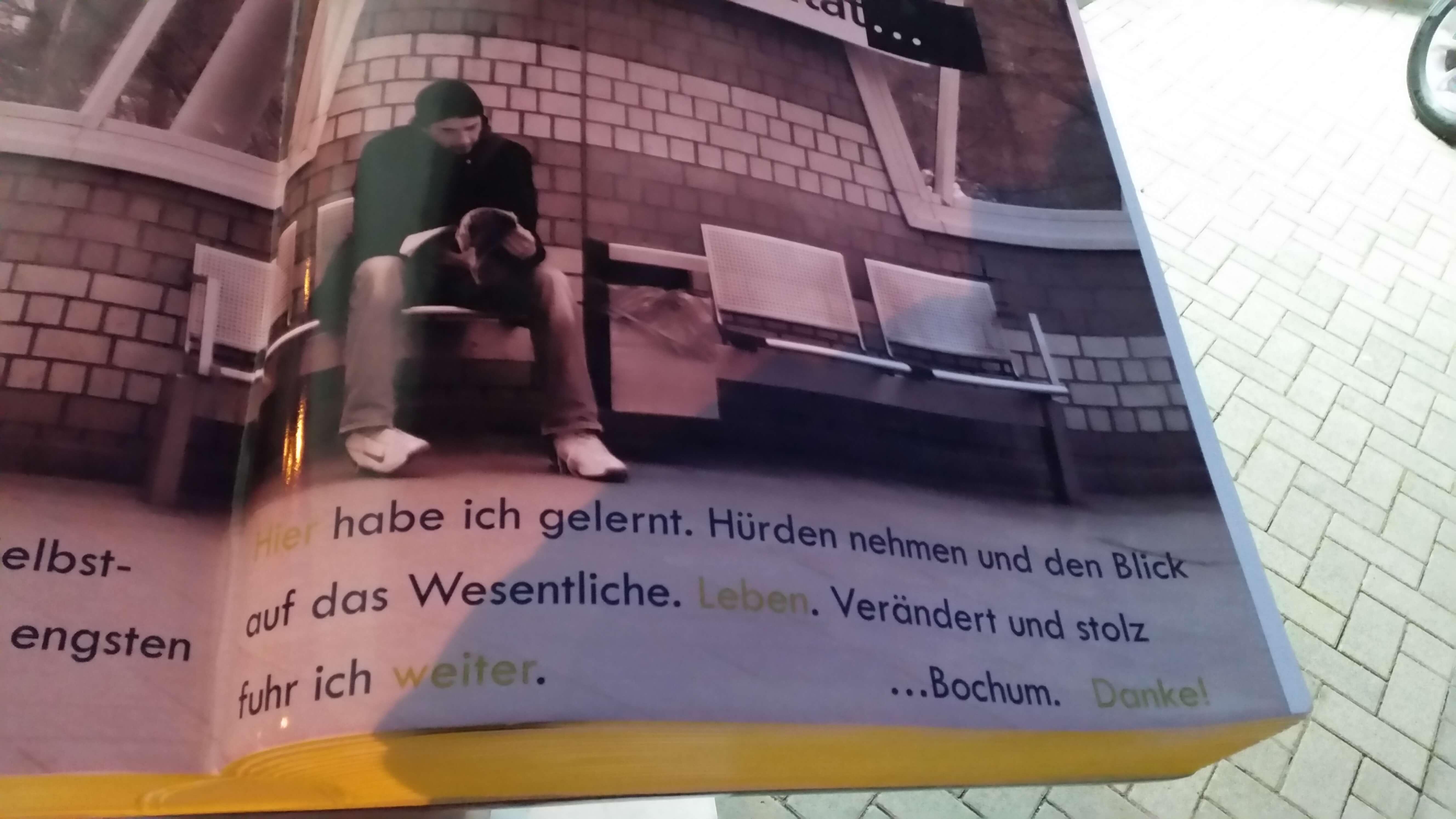 Warten in Bochum einmal anders