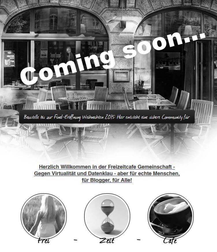 Freizeitcafe.com Programmierersuche geht in heisse Phase