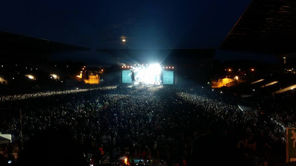 Xavier Stadion Essen 29.8 vier