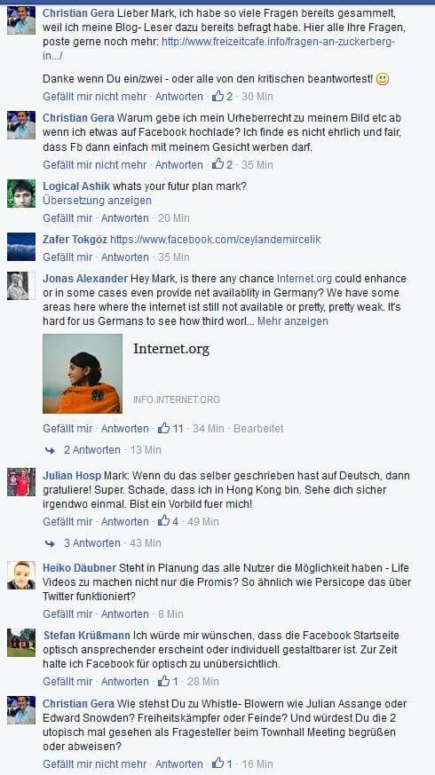 German Questions Zuckerberg 2