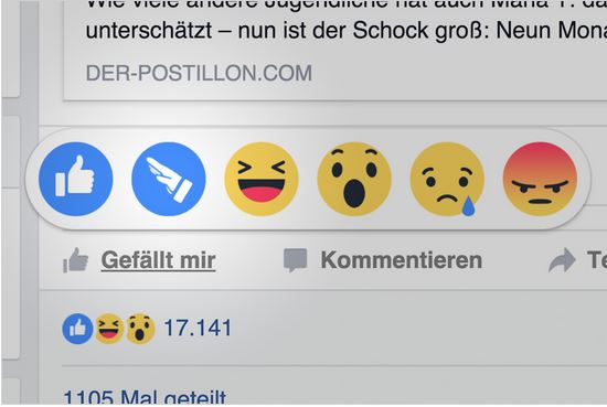 Facebook Reaktion Hitlergruss