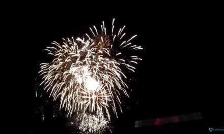Kemnader See in Flammen Feuerwerk Video