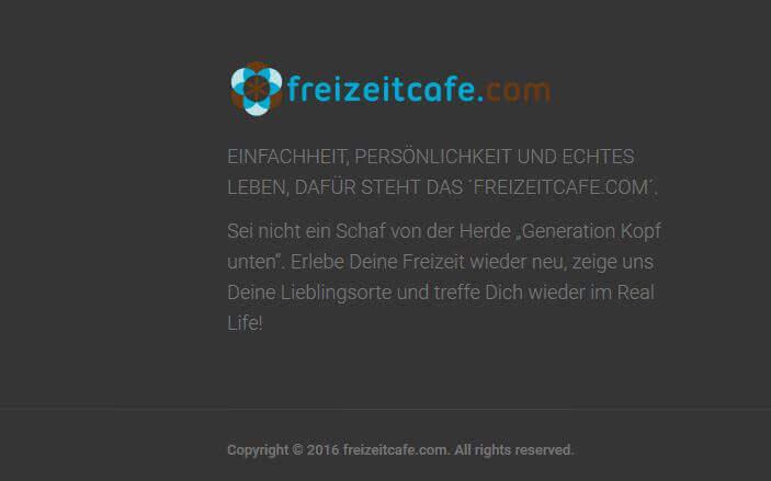 User Kommentare zum Freizeitcafe
