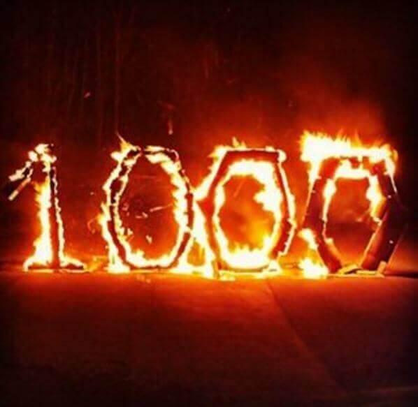 Danke an 1000 Instagram Abonnenten!