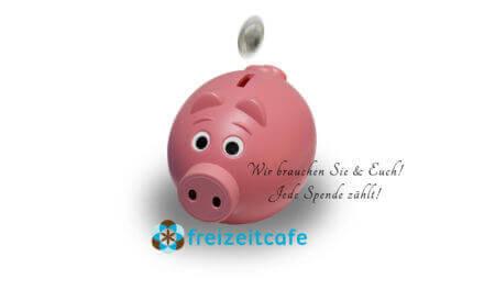 Die Freizeitcafe Spendenaktion beginnt!