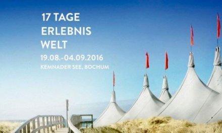 Die weiße Stadt: Das Zeltfestival Ruhr 2016 startet