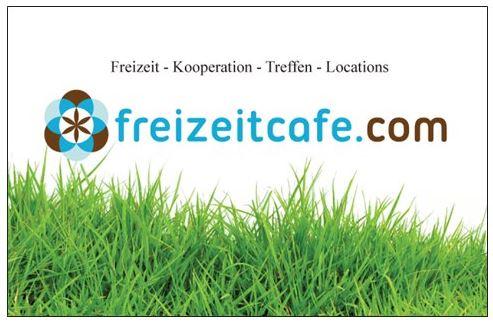 Freizeitcafe Visitenkarte front