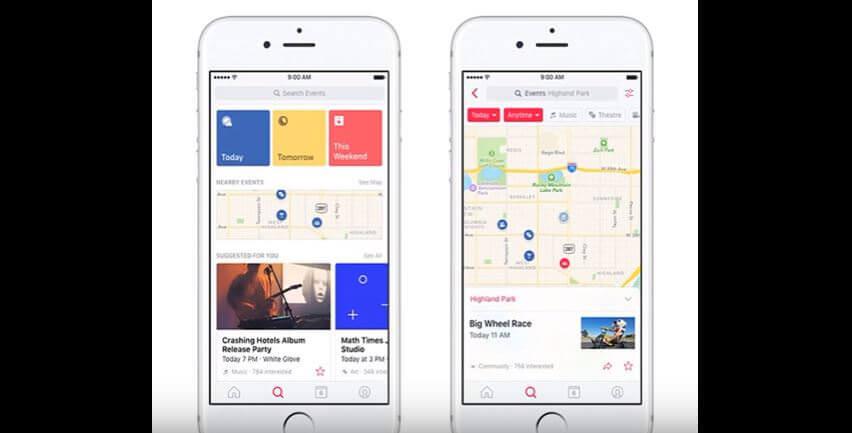 Facebook Event App kommt daher – braucht man das?