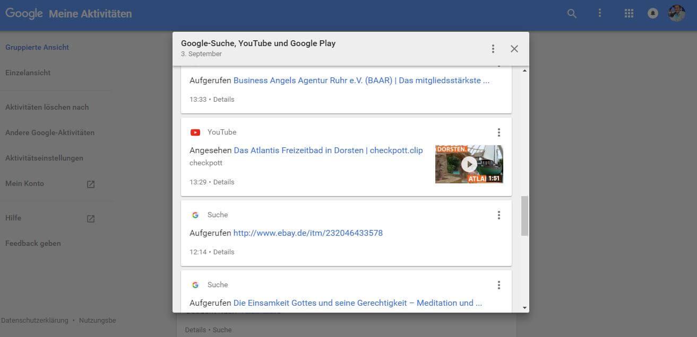 google-aktivitaetenverfolgung-loeschen