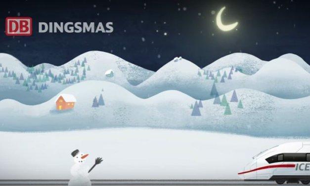 Weihnachtszeit Gewinnspiel Aktion der Deutschen Bahn: DINGSMAS!