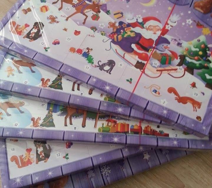 Freizeitcafe verlost 5 Advents Kalender von Milka für Kommentare!!!