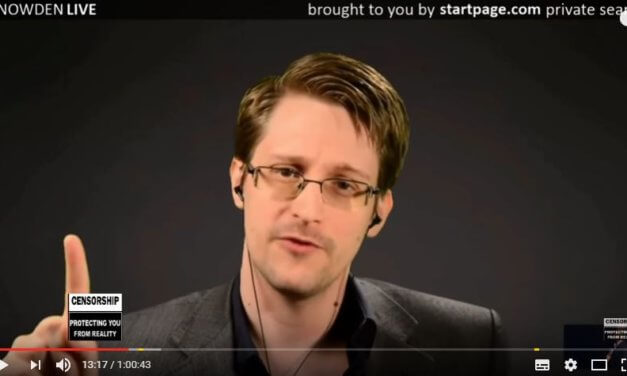Snowden Livestream Aufzeichnung vom 10.11.2016