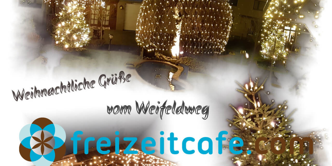 Das Freizeitcafe wünscht Euch schon jetzt Frohe Weihnachten!
