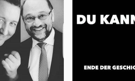 Du kannst. Martin Schulz wird das Land rocken! Meine Einschätzung