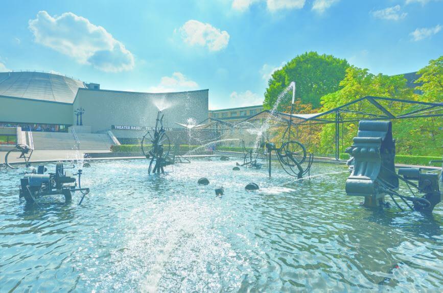 Die Kulturhauptstadt der Schweiz mit höchster Museen-Dichte: Basel !