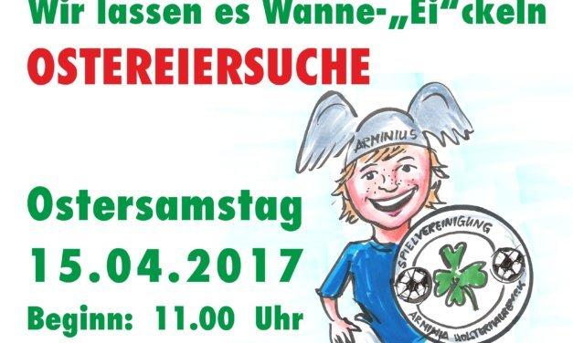 Unterstützt morgen die Arminia Holsterhausen bei der Eiersuche! & Petition unterschreiben!!