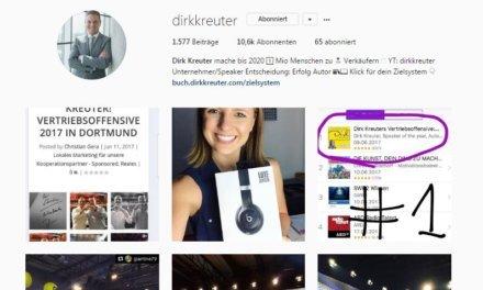 Besser geht´s nicht- Dirk Kreuter Vertriebsoffensive 2017 Dortmund Tag 2