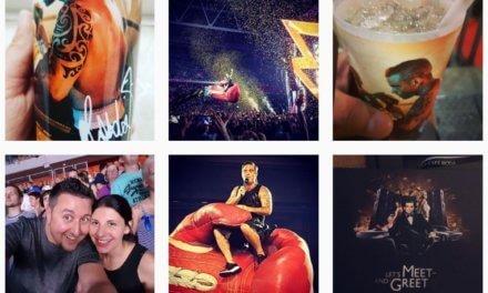 Robbie Williams Erlebnisbericht #heavy entertainment show Düsseldort Esprit Arena 2017