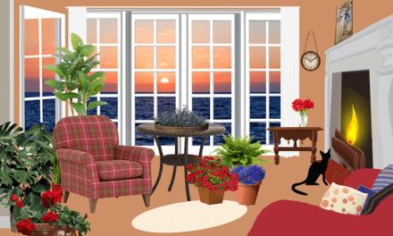 Positive Stimmung im Wohnzimmer erzeugen