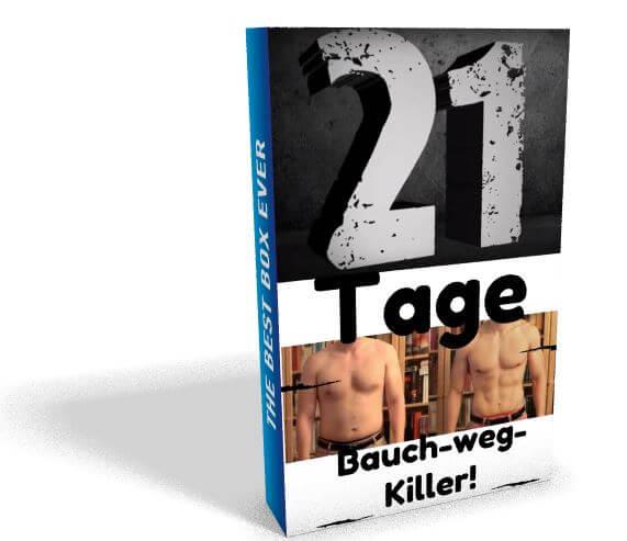 Abnehmen für Blogger? Der 21 Tage Bauch weg Killer hat mir geholfen!