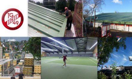 Mammut Projekt der TG49 in Bochum: Ökologie und Tennisfreude pur!