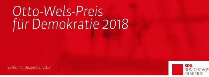 Spielvereinigung Arminia Holsterhausen bewirbt sich für den Otto-Wels-Preis der SPD- Bundestagsfraktion