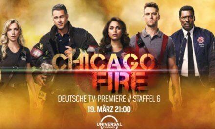Chicago Fire heizt Dir im TV Sessel wieder ein: Vorbei die kalten Tage