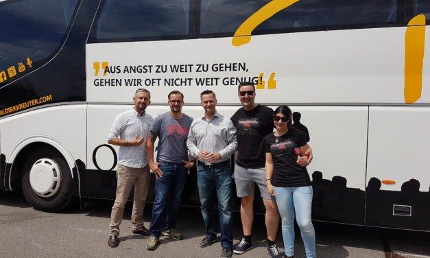 Die Weltmeisteroffensive 2018 von Dirk Kreuter in der Dortmunder Westfalenhalle rockt!