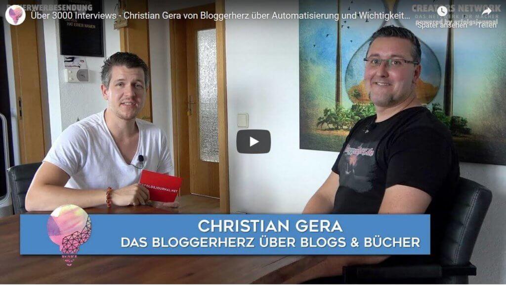 Christian Gera Erfolgsjournal