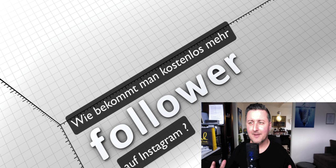 Wie bekommt man kostenlos mehr Follower auf Instagram ? #mehrfollower #mehrlikes