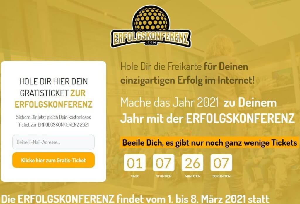 Erfolgskonferenz 2021